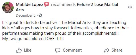 Kids3, Refuse 2 Lose Martial Arts Batavia, NY